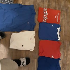Mens Athletic Lot NIKE UNDER ARMOUR ADIDAS